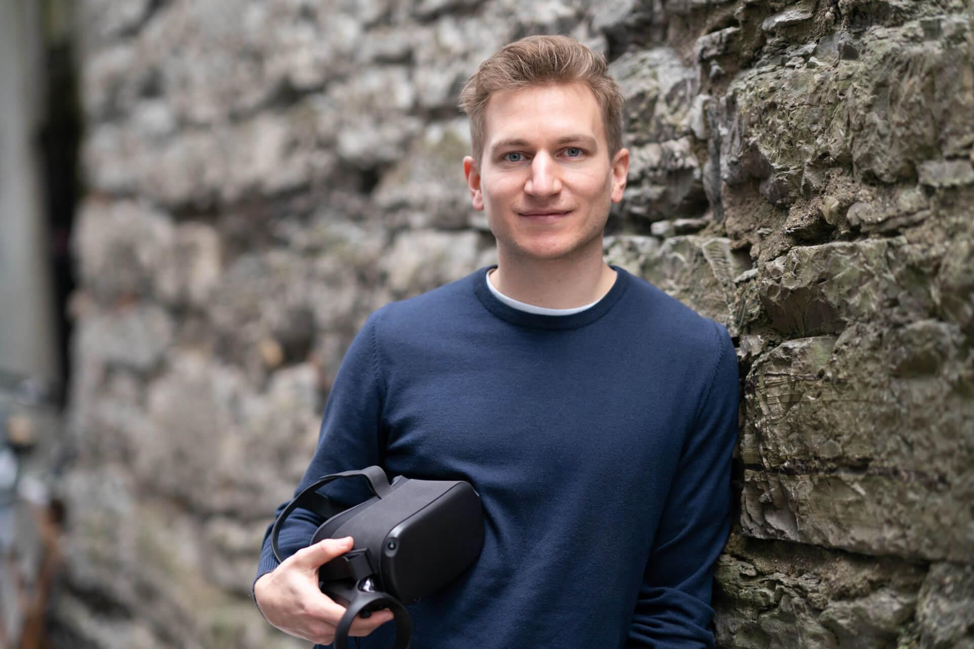 Hannes Aichmayr, Projektleiter EdTech Austria beim ITG - Innovationsservice für SalzburgFoto: WKS/ Probst Photographie, 29.01.2021